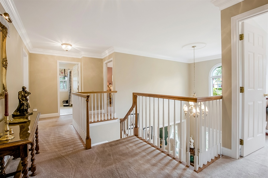 Real Estate Photography - 525 Ridgeview Dr, Hockessin, DE, 19707 - Upstairs Hall Area