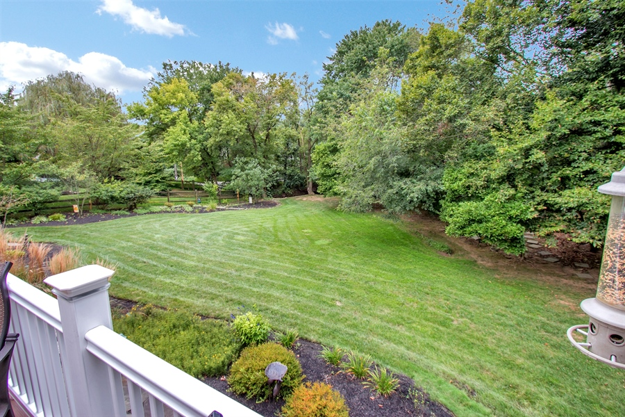 Real Estate Photography - 525 Ridgeview Dr, Hockessin, DE, 19707 - Stunning Private Rear Yard