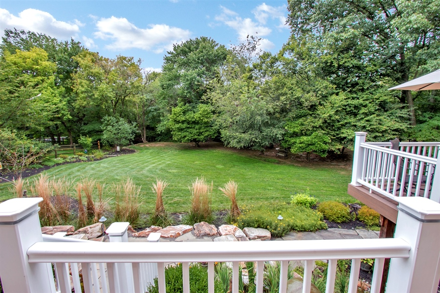 Real Estate Photography - 525 Ridgeview Dr, Hockessin, DE, 19707 - Stunning View of the Rear Yard