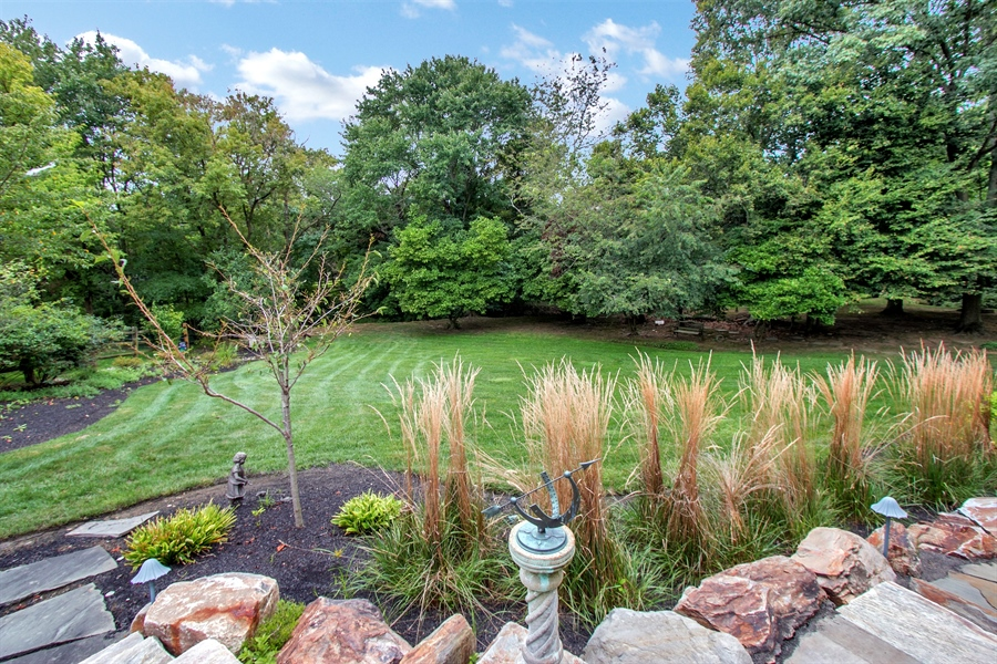 Real Estate Photography - 525 Ridgeview Dr, Hockessin, DE, 19707 - Another Amazing Rear Yard View