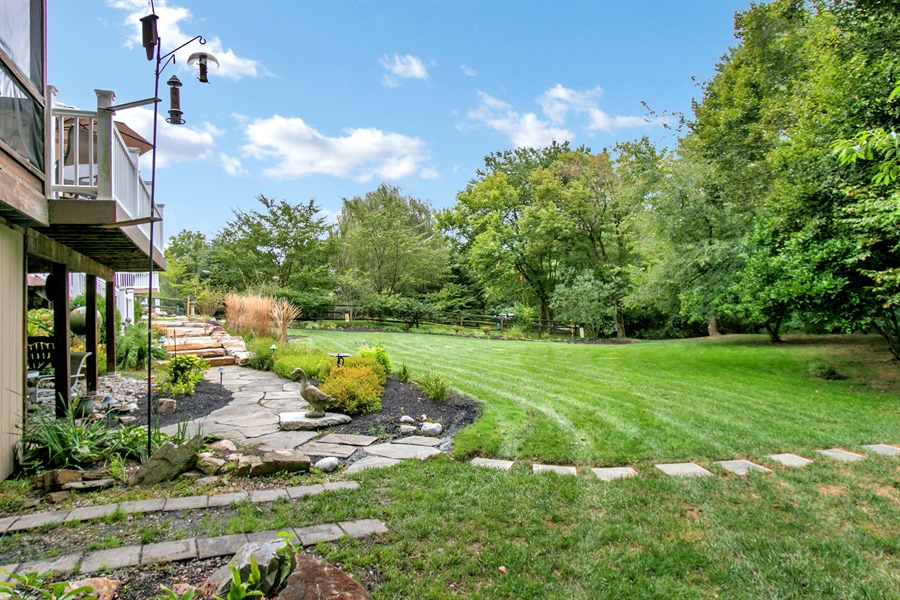 Real Estate Photography - 525 Ridgeview Dr, Hockessin, DE, 19707 - Another Rear Yard View