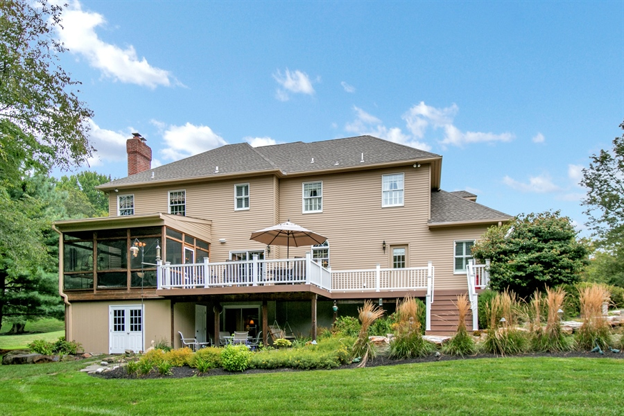 Real Estate Photography - 525 Ridgeview Dr, Hockessin, DE, 19707 - View of Rear of House