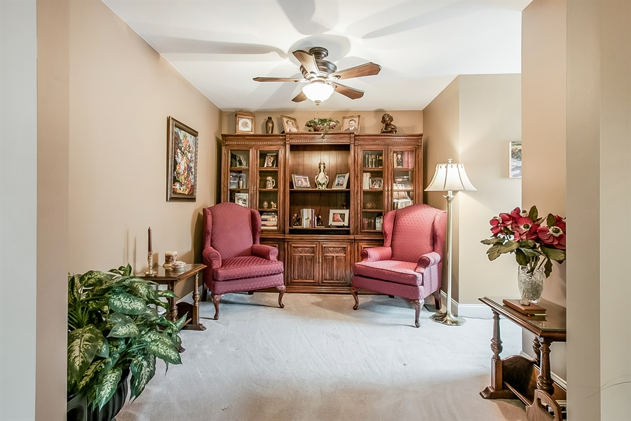 Real Estate Photography - 525 Ridgeview Dr, Hockessin, DE, 19707 - Spacious Sitting Room Could Be Another Closet!