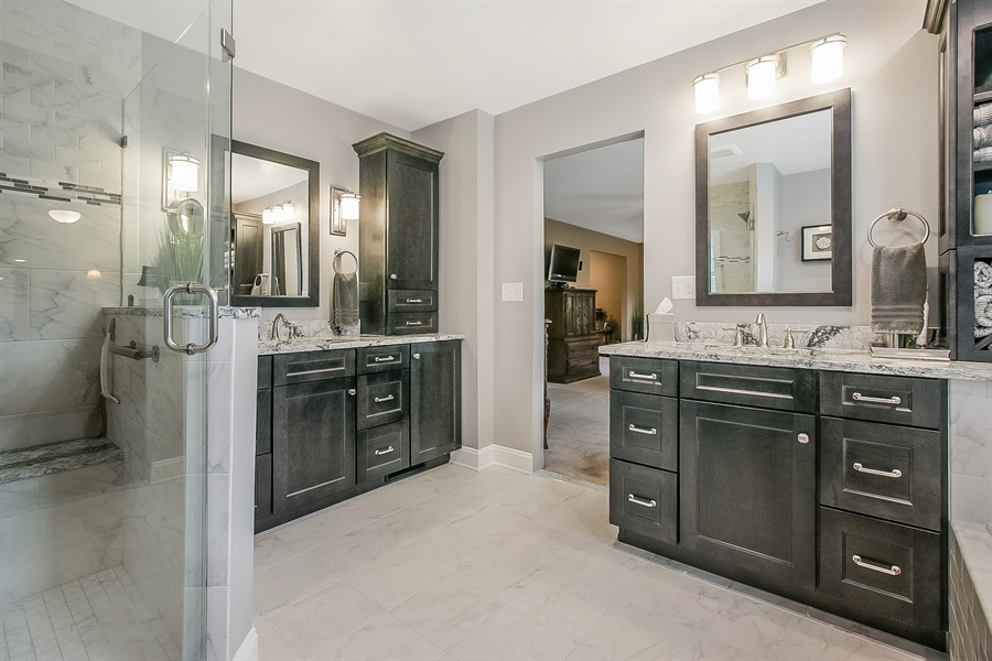 Real Estate Photography - 525 Ridgeview Dr, Hockessin, DE, 19707 - Another View of the Amazing Master Bath