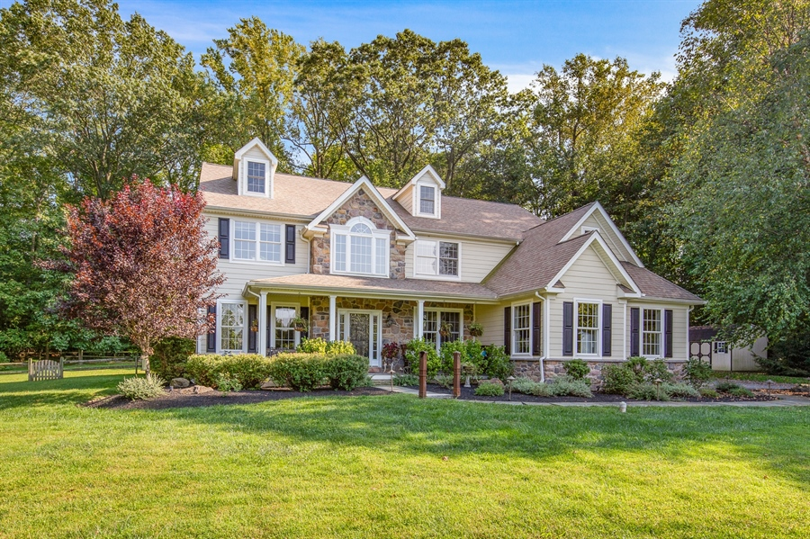 Real Estate Photography - 784 Shavertown Rd, Garnet Valley, PA, 19060 - Brand new James Hardie siding