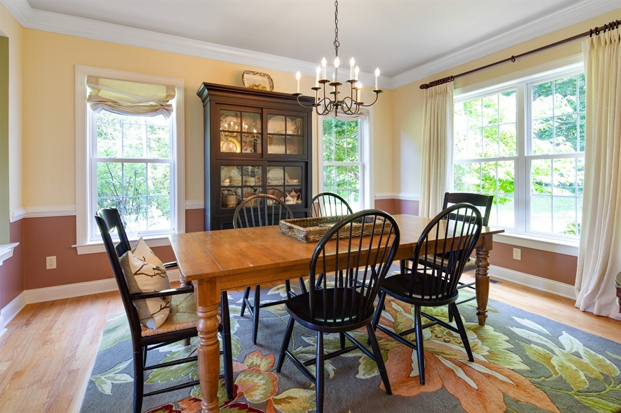 Real Estate Photography - 784 Shavertown Rd, Garnet Valley, PA, 19060 - Dining Room (open to Living Room)