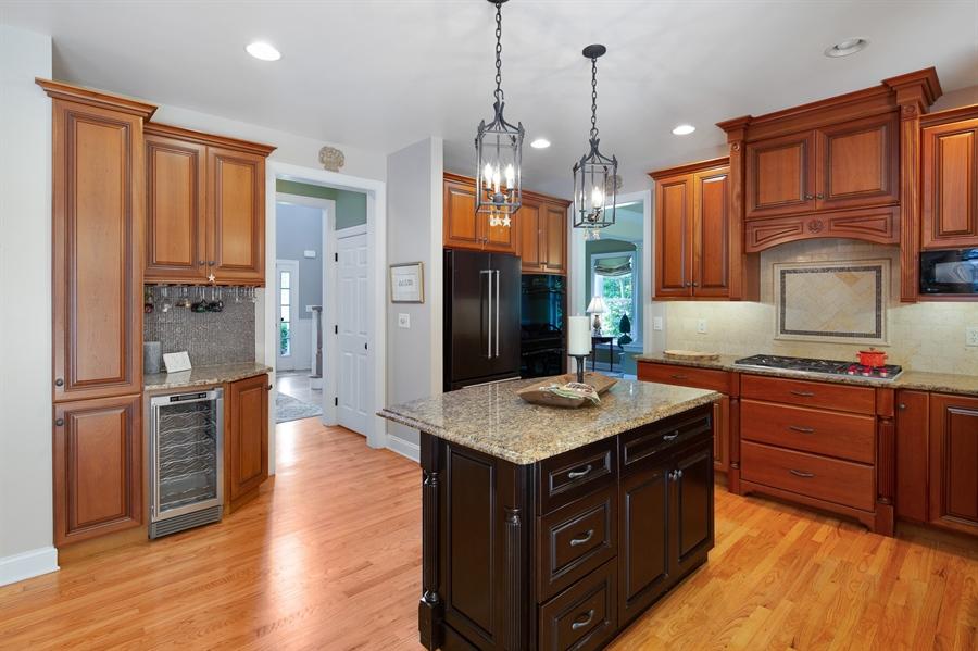 Real Estate Photography - 784 Shavertown Rd, Garnet Valley, PA, 19060 - Quite new black stainless steel fridge/dishwasher