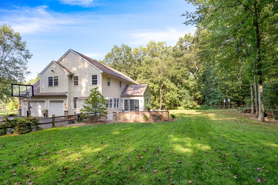 Real Estate Photography - 784 Shavertown Rd, Garnet Valley, PA, 19060 - Beautiful, big, fenced in back yard