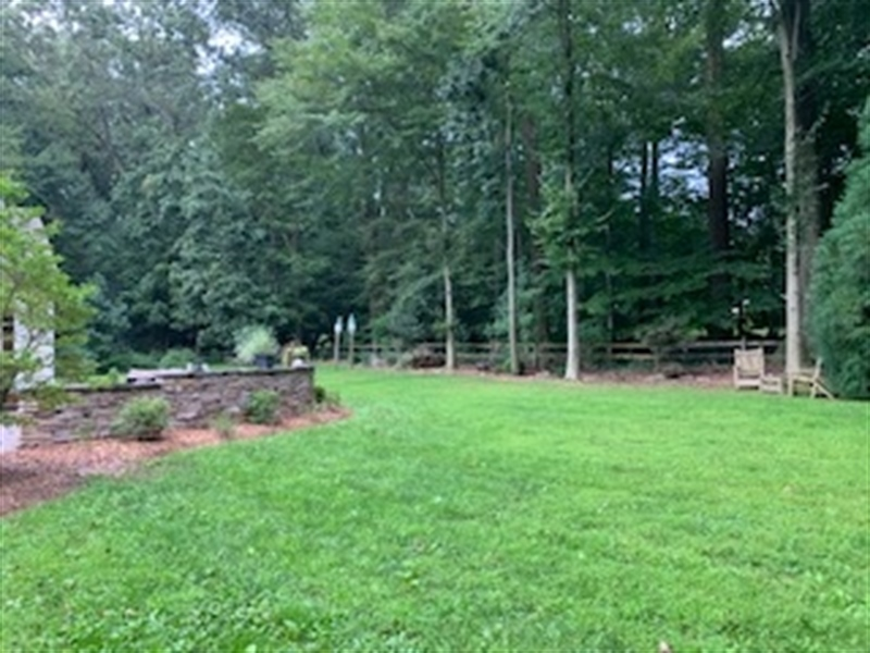 Real Estate Photography - 784 Shavertown Rd, Garnet Valley, PA, 19060 - Almost two acres of flat, fenced in yard