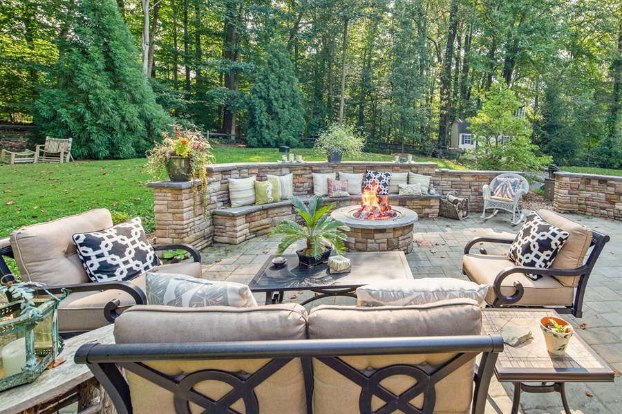 Real Estate Photography - 784 Shavertown Rd, Garnet Valley, PA, 19060 - Luxurious outdoor living space