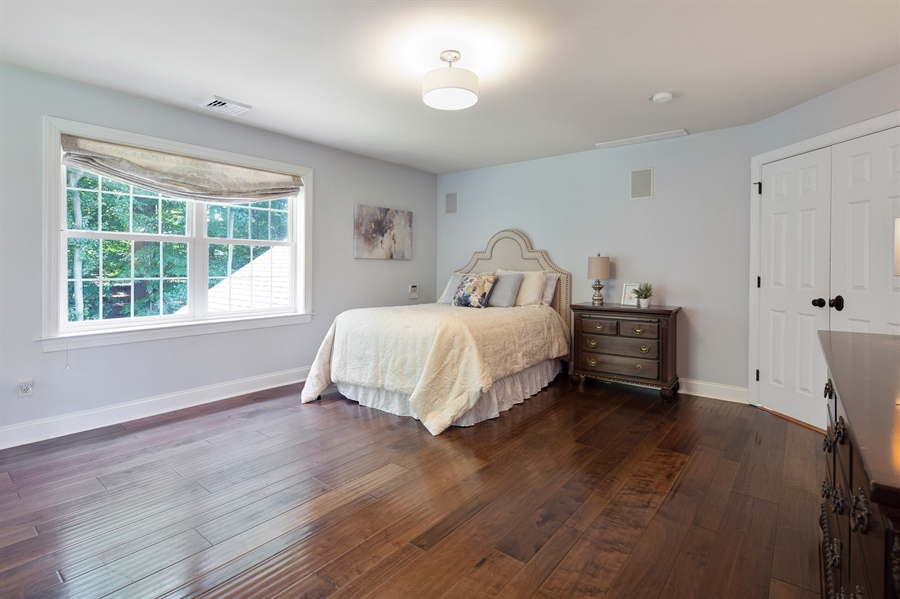 Real Estate Photography - 784 Shavertown Rd, Garnet Valley, PA, 19060 - Master Bedroom with hardwood flooring