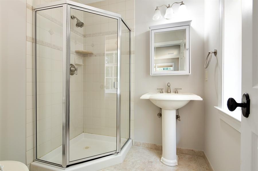 Real Estate Photography - 784 Shavertown Rd, Garnet Valley, PA, 19060 - Bathroom #3 adjacent to Bedroom#3
