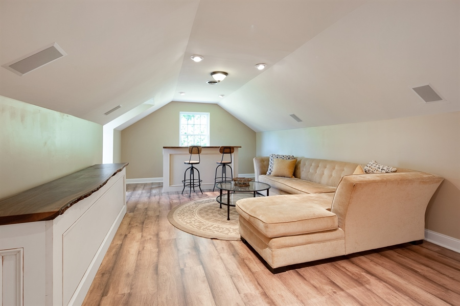 Real Estate Photography - 784 Shavertown Rd, Garnet Valley, PA, 19060 - 3rd floor recreation room ideal for relaxation