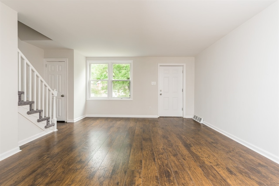 Real Estate Photography - 3038 W Court Ave, Claymont, DE, 19703 - Beautiful Flooring