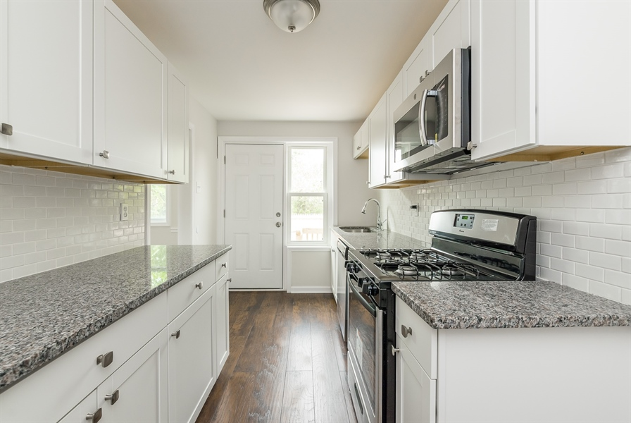 Real Estate Photography - 3038 W Court Ave, Claymont, DE, 19703 - Updated Kitchen