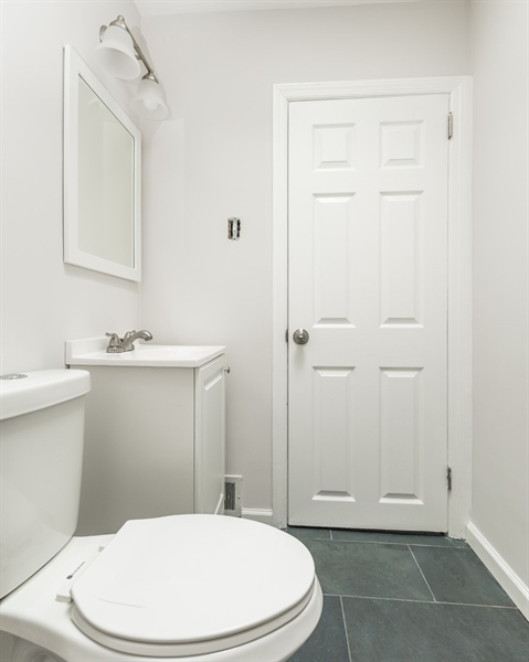 Real Estate Photography - 3038 W Court Ave, Claymont, DE, 19703 - Hall Full Bath