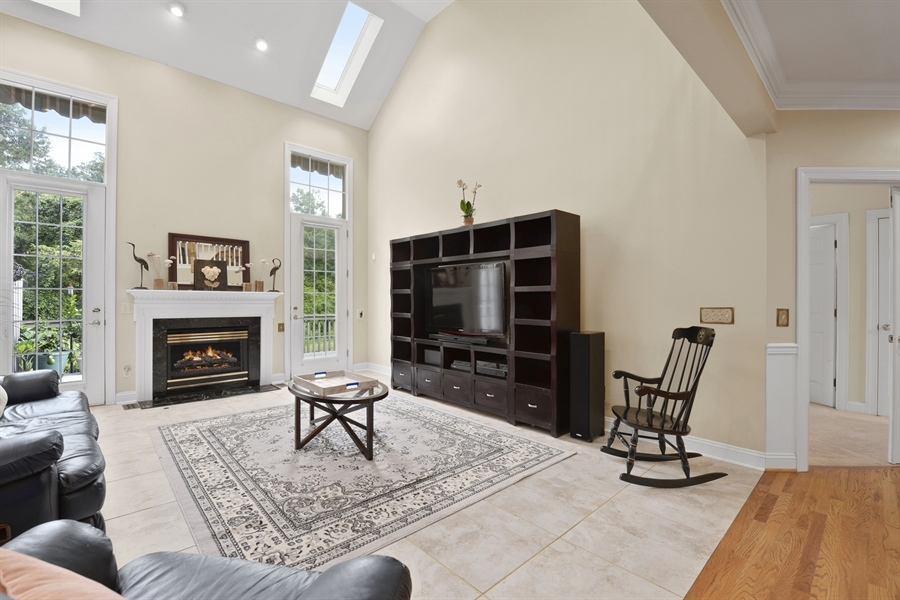 Real Estate Photography - 30 Fall Brooke Rd, Newark, DE, 19711 - Great Room filled with Natural Light