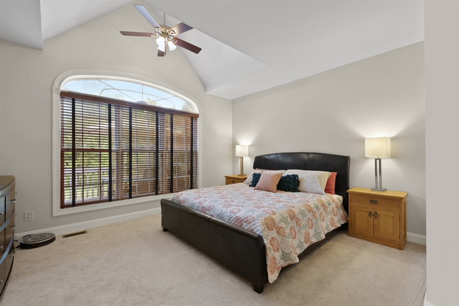 Real Estate Photography - 30 Fall Brooke Rd, Newark, DE, 19711 - Master Suite with Vaulted Ceiling