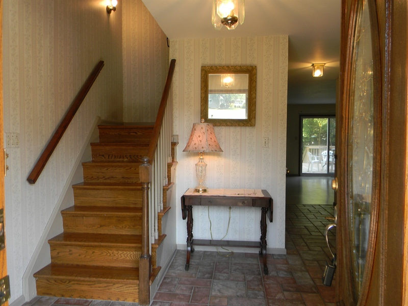 Real Estate Photography - 210 Atlanta Ct, Elkton, MD, 21921 - Foyer with Turned Staircase