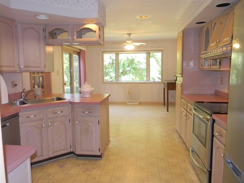 Real Estate Photography - 210 Atlanta Ct, Elkton, MD, 21921 - Spacious Kitchen and Breakfast Area