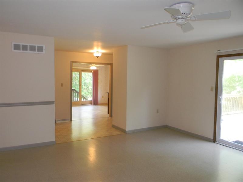 Real Estate Photography - 210 Atlanta Ct, Elkton, MD, 21921 - Family Room to Kitchen