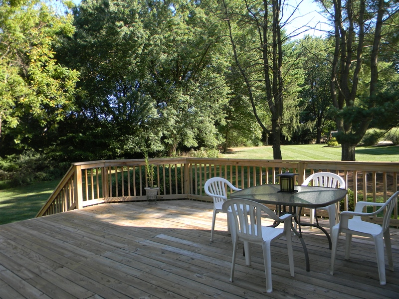 Real Estate Photography - 210 Atlanta Ct, Elkton, MD, 21921 - Large Deck for Entertaining or Relaxing