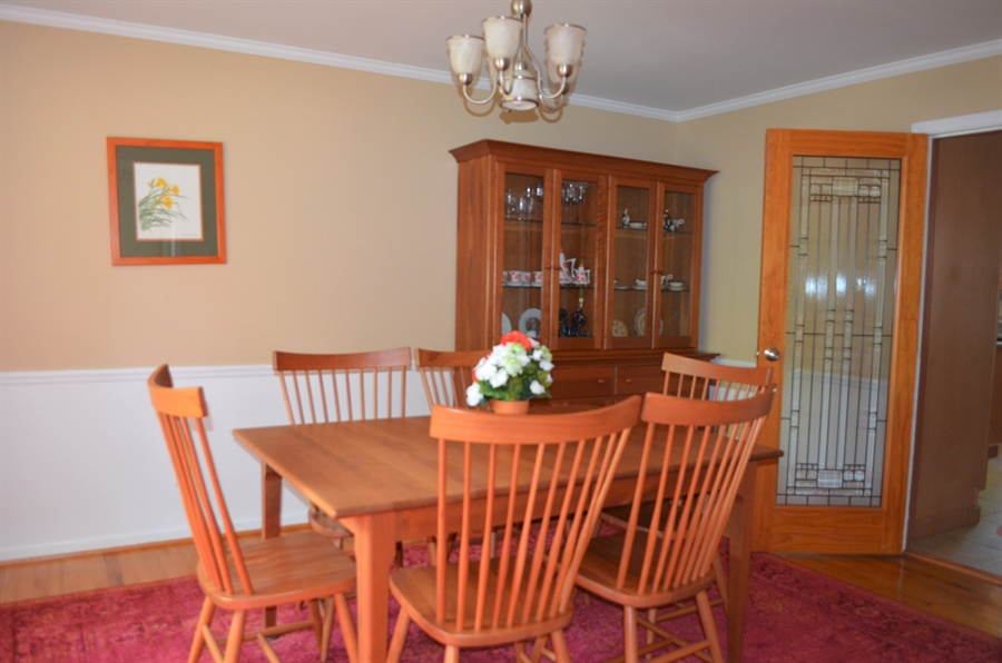 Real Estate Photography - 3207 Delwynn Dr, Wilmington, DE, 19803 - Formal Dining Room w Hardwood Floors and Molding