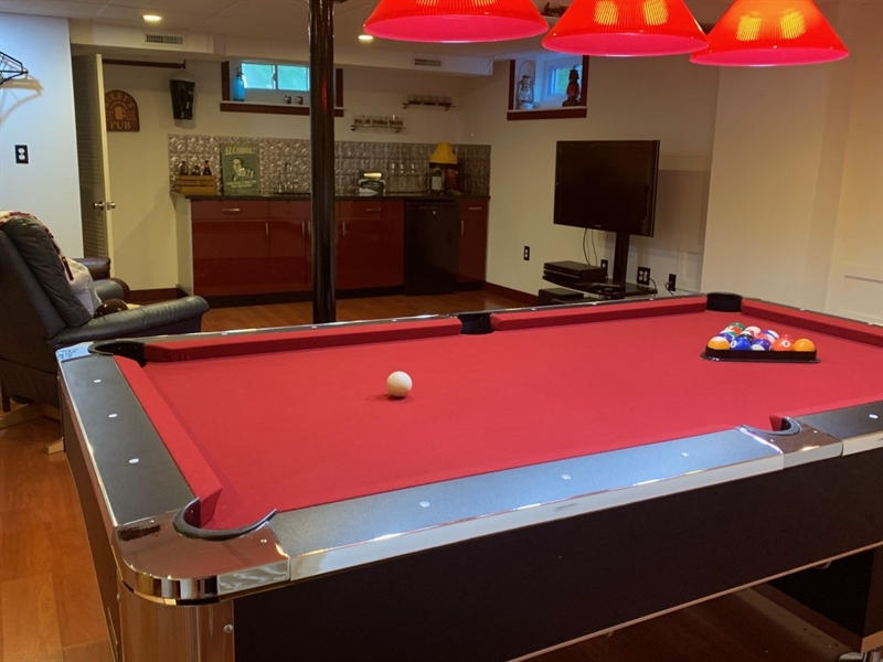 Real Estate Photography - 3207 Delwynn Dr, Wilmington, DE, 19803 - Pool Table included