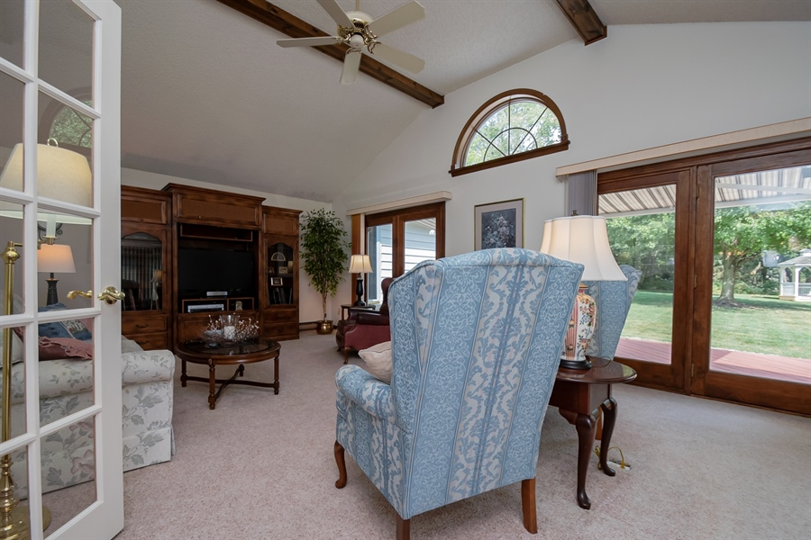 Real Estate Photography - 204 N Star Rd, Newark, DE, 19711 - Family room off kitchen