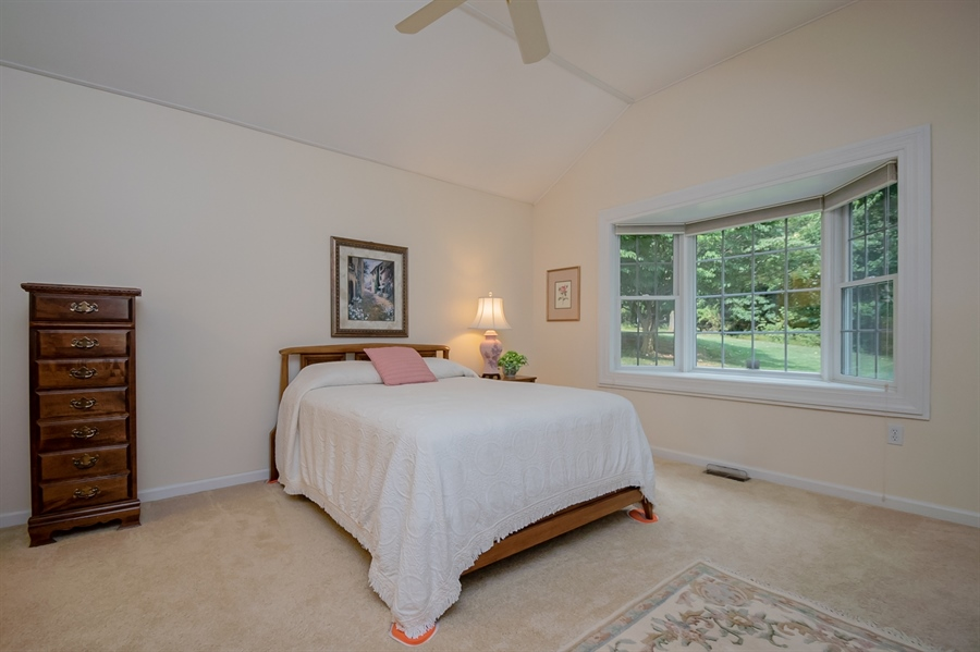 Real Estate Photography - 204 N Star Rd, Newark, DE, 19711 - In-law Master Bedroom
