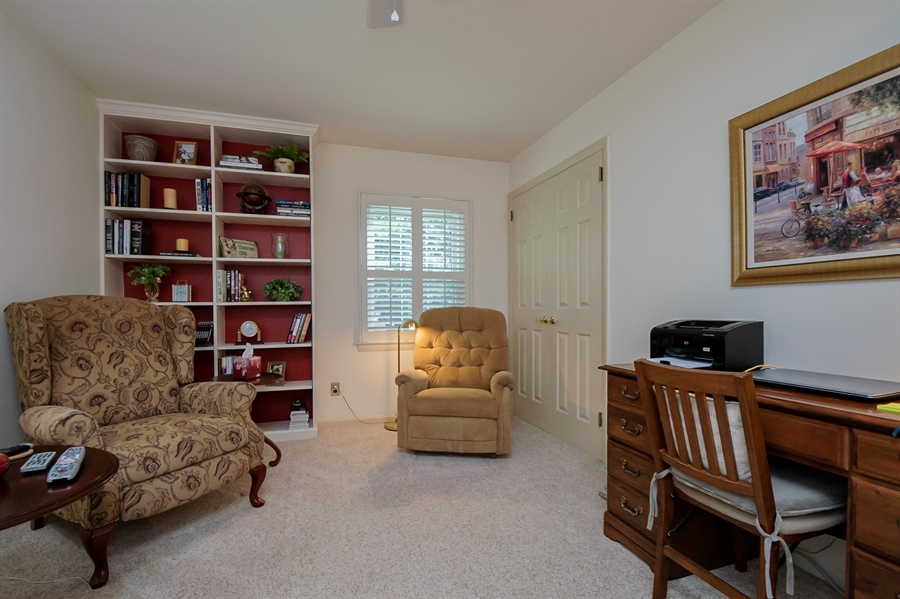 Real Estate Photography - 204 N Star Rd, Newark, DE, 19711 - 2nd Bedroom main level used as Den