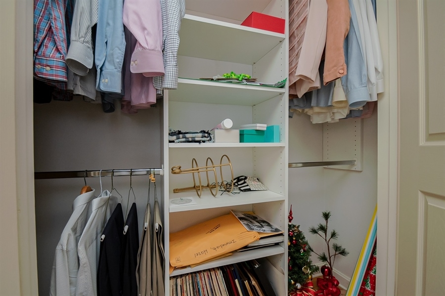 Real Estate Photography - 204 N Star Rd, Newark, DE, 19711 - All Closets in Home are Cutom by California Closet