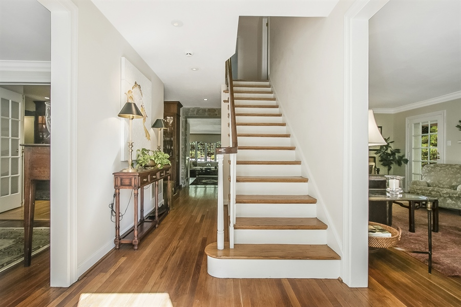 Real Estate Photography - 300 Kennett Pike, Chadds Ford, PA, 19317 - Gleaming White Oak Floors Throughout