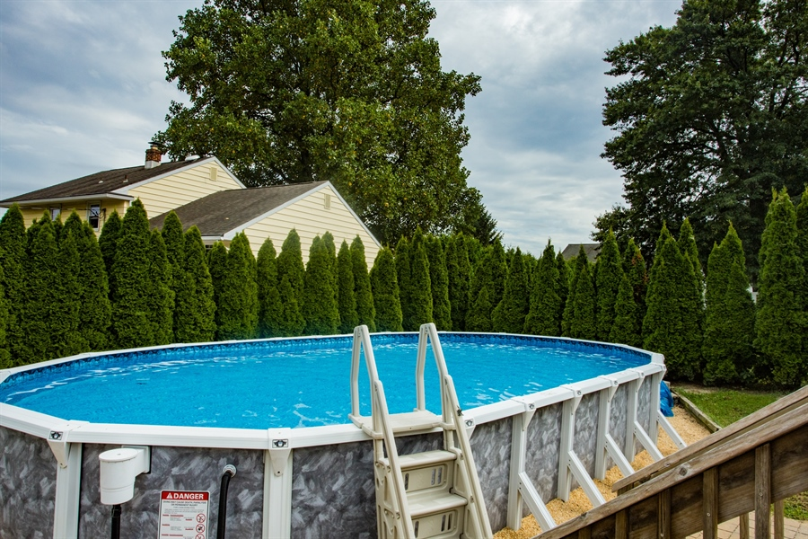 Real Estate Photography - 404 Cushman Rd, Wilmington, DE, 19804 - Pool