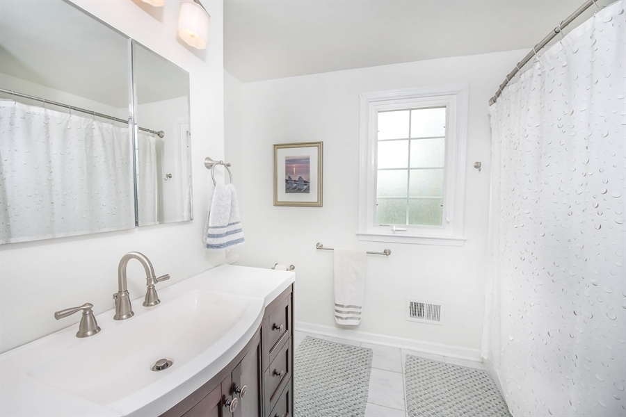 Real Estate Photography - 700 Fawn Rd, Newark, DE, 19711 - another 2nd floor bath view