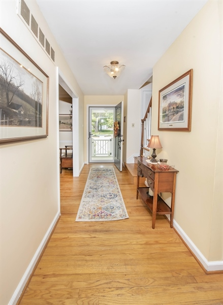 Real Estate Photography - 700 Fawn Rd, Newark, DE, 19711 - view from kitchen toward front door