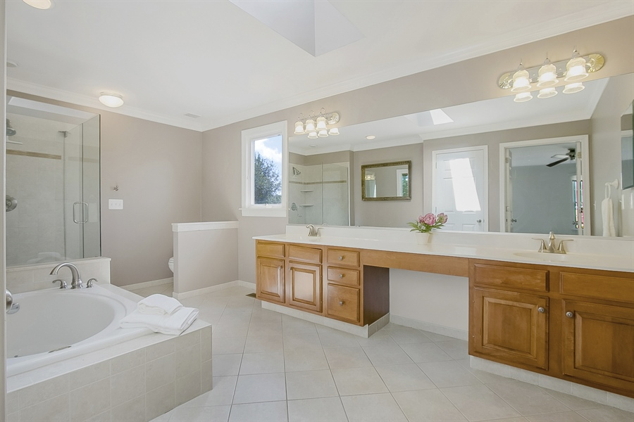 Real Estate Photography - 5 Grosbeak Ln, Newark, DE, 19711 - Spa-Like Master Bath