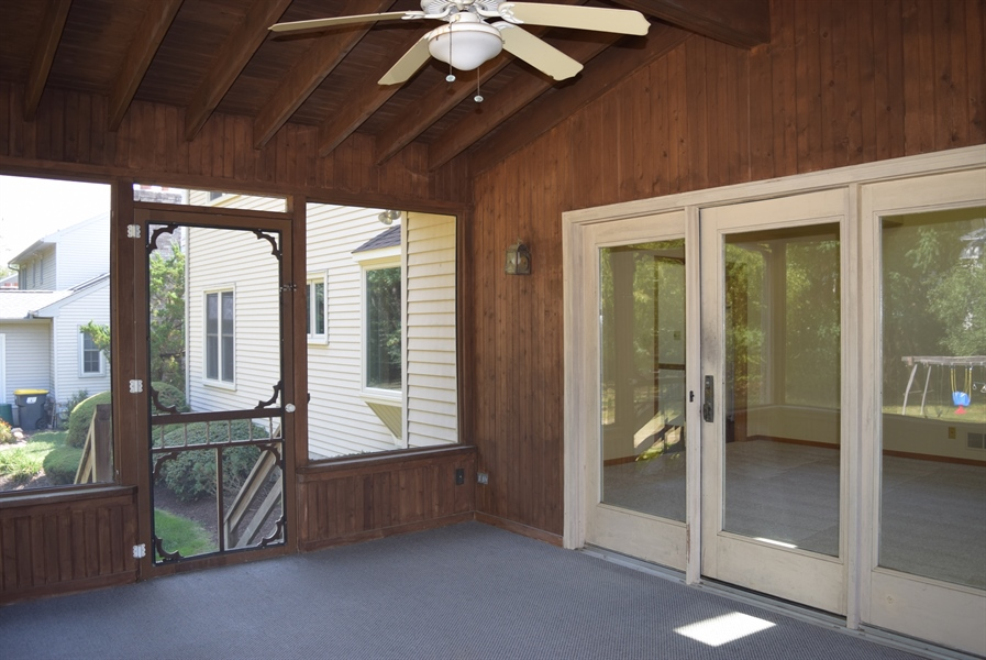 Real Estate Photography - 513 Penn Manor Dr, Newark, DE, 19711 - Another view of enclosed porch