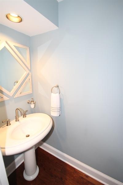 Real Estate Photography - 605 Cheltenham Rd, Wilmington, DE, 19808 - Powder Room