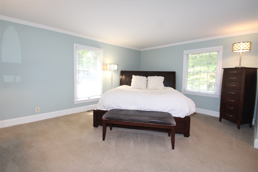 Real Estate Photography - 605 Cheltenham Rd, Wilmington, DE, 19808 - Master Bedroom
