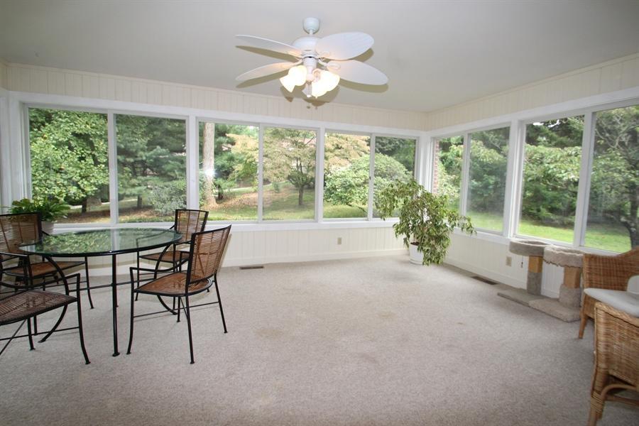 Real Estate Photography - 605 Cheltenham Rd, Wilmington, DE, 19808 - Sun Room