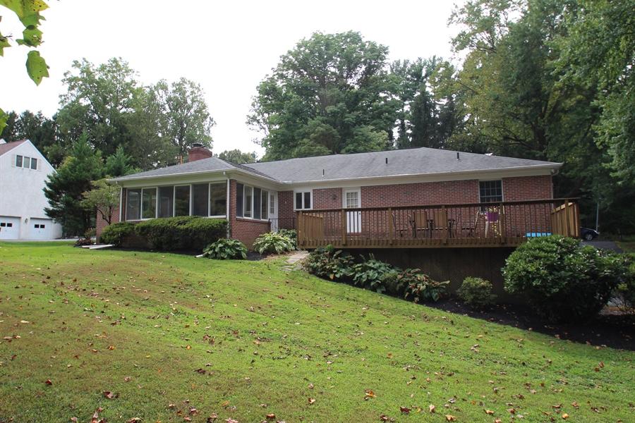 Real Estate Photography - 605 Cheltenham Rd, Wilmington, DE, 19808 - Rear of home