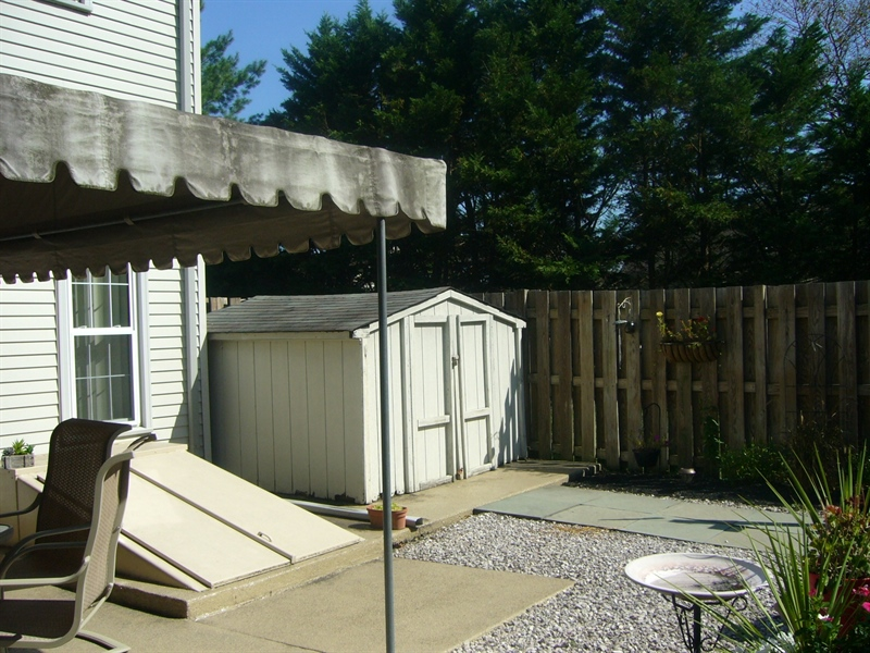 Real Estate Photography - 512 Cobblers Ln, Hockessin, DE, 19707 - Patio/Shed