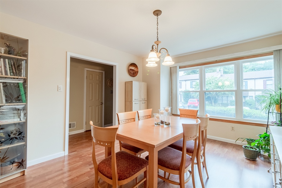 Real Estate Photography - 10 West Ct, Wilmington, DE, 19810 - Dining room gets lots of natural light