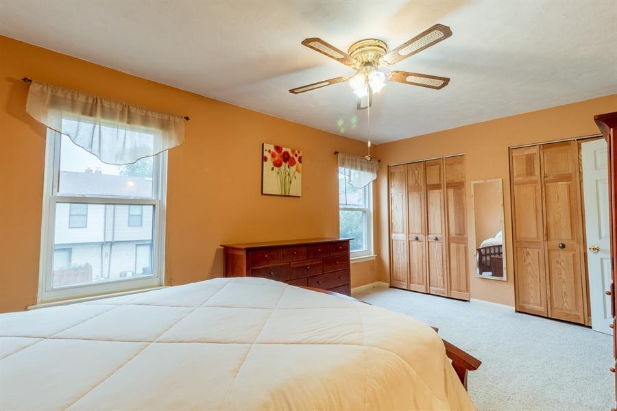 Real Estate Photography - 10 West Ct, Wilmington, DE, 19810 - Master bedroom features 3 double closets