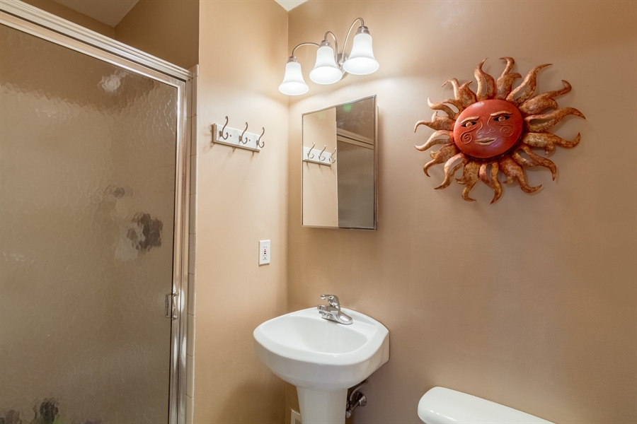 Real Estate Photography - 10 West Ct, Wilmington, DE, 19810 - Master bath with stall shower