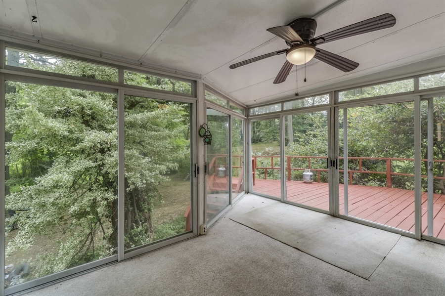Real Estate Photography - 806 N Country Club Dr, Newark, DE, 19711 - Sunroom