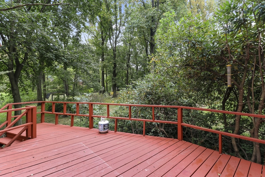 Real Estate Photography - 806 N Country Club Dr, Newark, DE, 19711 - Rear Deck
