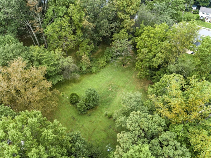 Real Estate Photography - 806 N Country Club Dr, Newark, DE, 19711 - Overhead of rear land