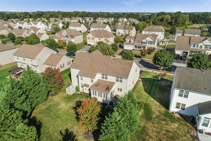Real Estate Photography - 915 Benalli Dr, Middletown, DE, 19709 - Lots of trees for added privacy
